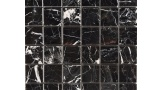 48mm x 48mm Field Mosaic in Polished Nero Marquina
