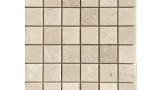 48mm x 48mm Field Mosaic in Tumbled Royal Botticino